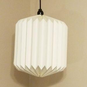 Honey comb style millmade Paper lit lantern